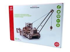 Конструктор 3D деревянный Lemmo Трубоукладчик