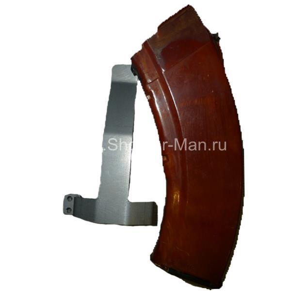 Металлическая клипса для магазинов АКМ/Сайга калибра 7,62*39 Shooter-Man фото 2