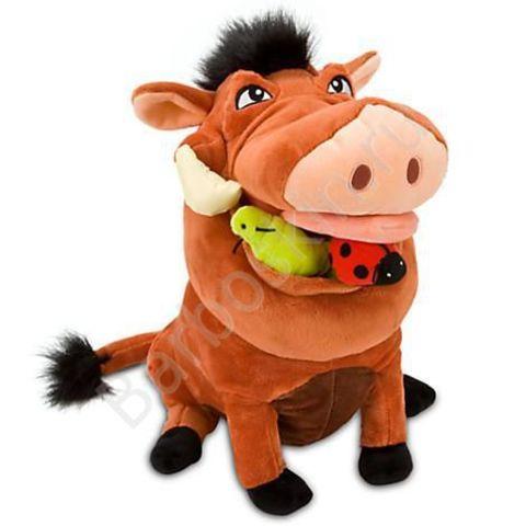 Мягкая игрушка Пумба (Pumbaa) из мультфильма Король Лев - The Lion King, Disney