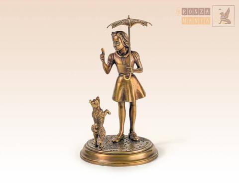 статуэтка Девочка с зонтиком