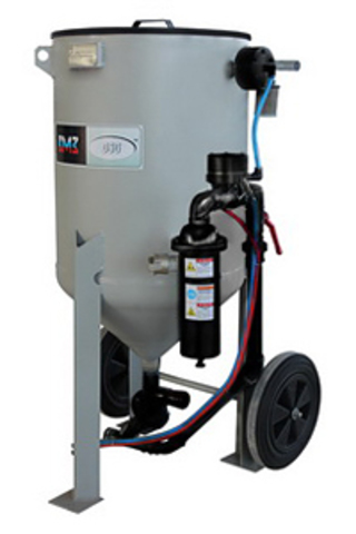 Абразивоструйная установка DSG®-100 литров с дистанционным управлением