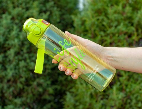 Бутылка POWCAN - 700 мл. Life Style - Салатовый