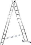 Лестница СИБИН универсальная, двухсекционная, 7 ступеней
