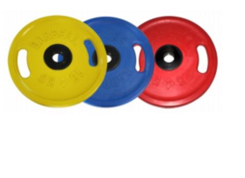 Диски 'Евро-Классик' С ручками Цветные от 15 до 50 кг