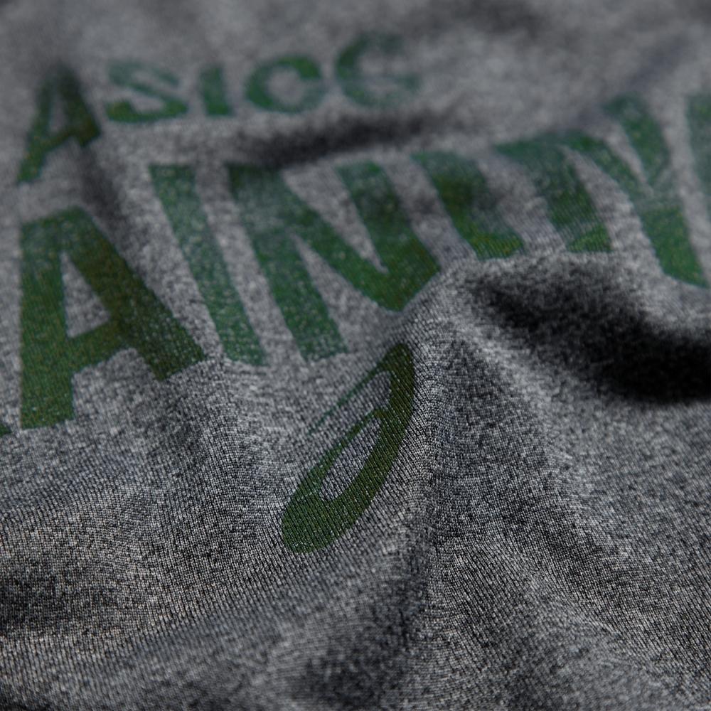 Asics Graphic Tee Футболка беговая grey