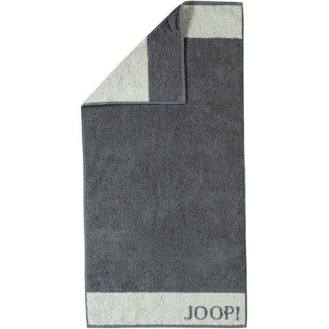 Полотенце 50x100 Cawo-JOOP! Imperial Doubleface 1638 серое