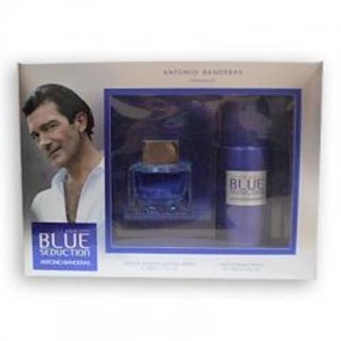 Antonio Banderas Blue Seduction for Men Set (Deo 150 ml + Edt 50 ml)