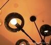 люстра Licht im Raum White Moons 12 balls