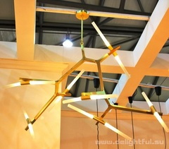 люстра ROLL&HILL Agnes Chandelier-20 Lights (gold)