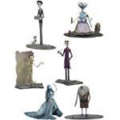 Corpse Bride Action Figure Series 2 Set