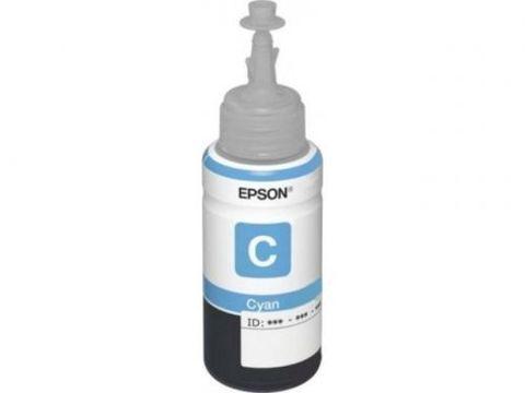 Чернила голубые для Epson L800, L850, L1800 -  70 мл (C13T67324A)