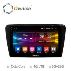 Штатная магнитола на Android 6.0 для Skoda Octavia 13+ Ownice C500+ S1916P