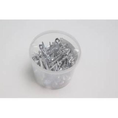 Зажим Ставвер метал для волос 5,3 см 50шт/уп
