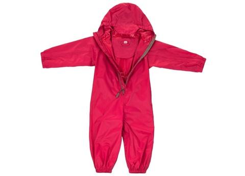 Комбинезон-дождевик Хиппичик непромокаемый розовый