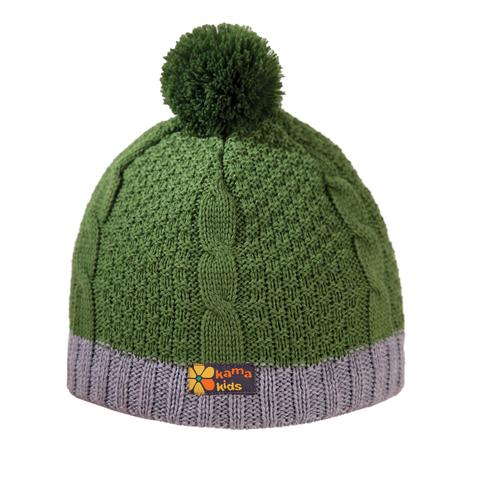 шапка Kama B69 green
