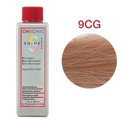 CHI Ionic Shine Shades Liquid Color 9CG  (Светлый медно-золотой блонд) - Жидкая краска для волос