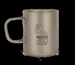 Титановая кружка Novaya Zemlya Ti Double Wall Mug 0,45 л TMDW450FH