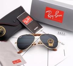 Очки Ray Ban Aviator RB3422 Gold