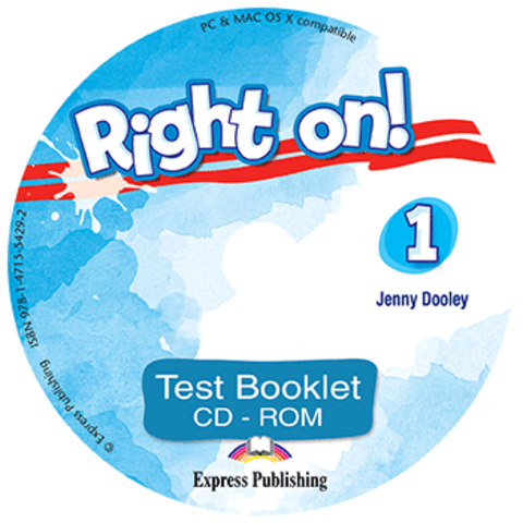 Right on! 1. Test booklet CD-ROM (international).  Сборник тестовых заданий CD-ROM