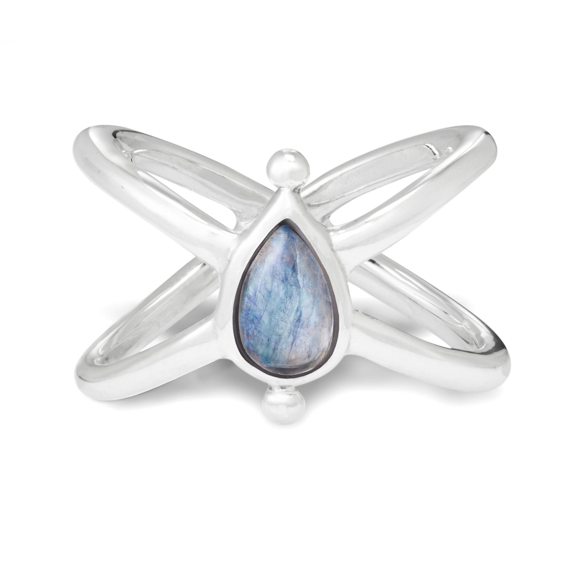 Кольцо EOS - Лунный камень