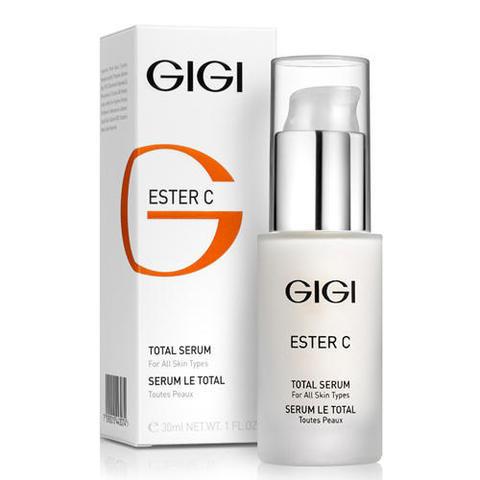Увлажняющая сыворотка Total Serum, Ester C, GiGi, 30 мл