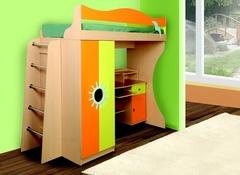 Кровать двухъярусная Д1 стандарт