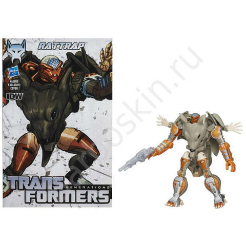 Крыса - Трансформер Максимал - Generations Deluxe Class Rattrap Maximal Transformers, Hasbro
