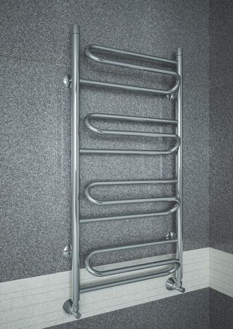Upiter E - водяной полотенцесушитель с увеличенным пространством  для сушки.