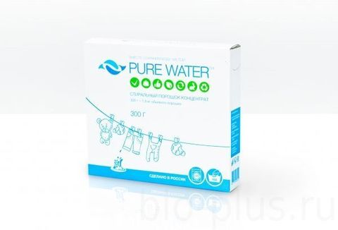 Стиральный порошок Pure Water 300 гр (PURE WATER)