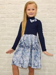 382ФД-2 платье детское, синее