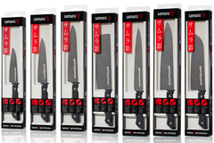 Набор из 7 кухонных стальных ножей