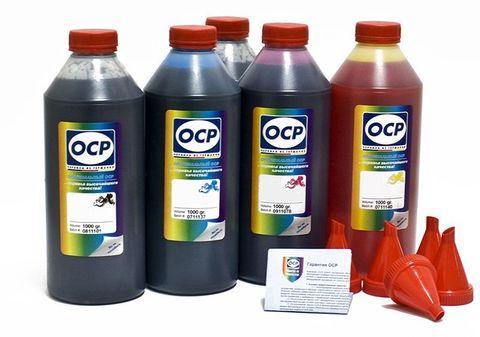 Комплект чернил ОСР для картриджей CANON Prograf PFI-102 (BKP44, BK797, C133, M/Y122), 1000г x 5