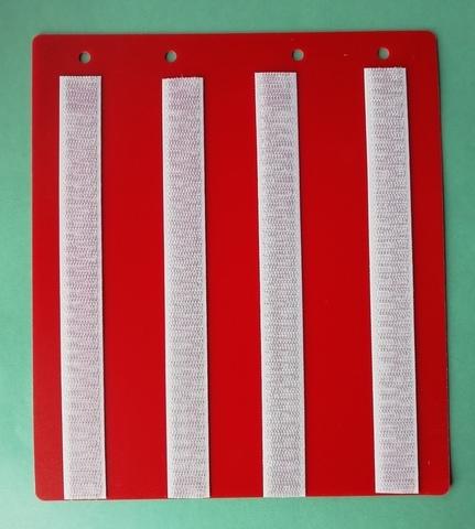 Лист-вкладыш для Коммуникативной книги для карточек 4 * 4 см или 5 * 5 см