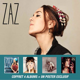 Zaz / Coffret 4 Albums (5CD+DVD)
