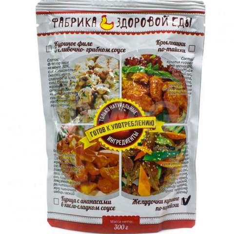 Желудочки куриные по-корейски 'Фабрика здоровой еды', 300г
