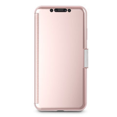 Чехол-книжка Moshi Stealth Cover для iPhone XS Max розовый