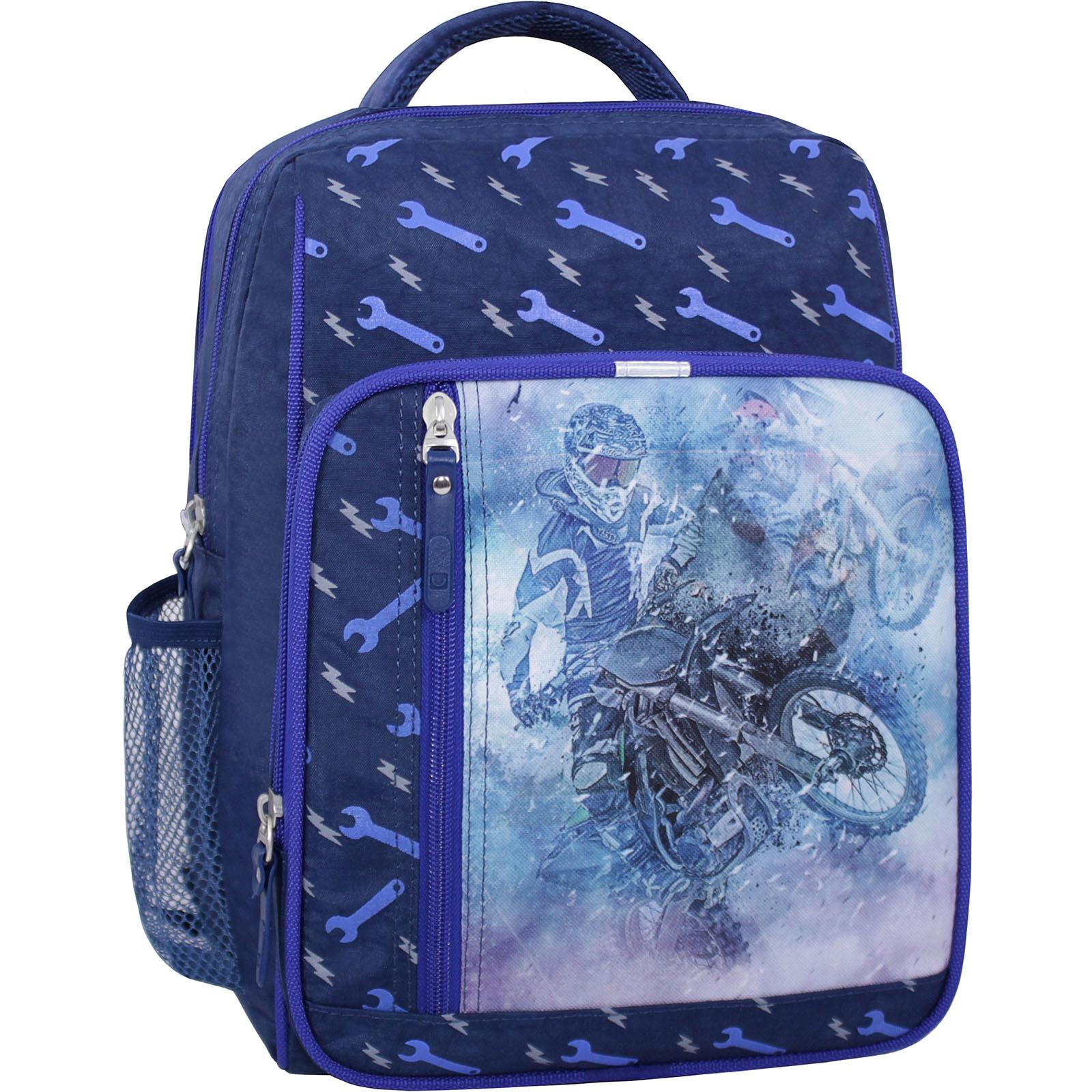 Школьные рюкзаки Рюкзак школьный Bagland Школьник 8 л. 225 синий 534 (00112702) IMG_2522_суб.534_.JPG