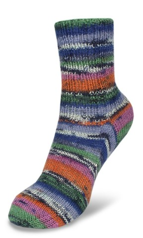 Пряжа для носков Rellana Flotte Socke Samba 1292