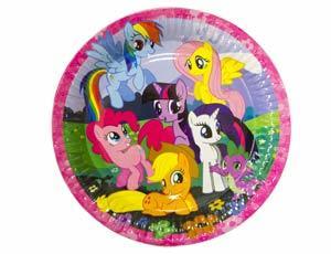 Тарелки Тарелки My Little Pony /8 шт 1502-1328_m1.jpg