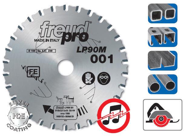 Диск пильный LP90M по железу 190х30 мм, 38 зуб. /Freud Pro/ Freud LP90M004