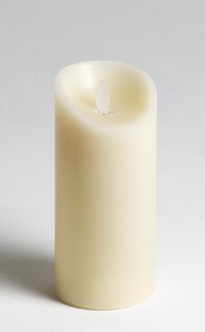Свеча электронная. Диаметр - 8 см, высота - 18 см