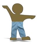 Флисовые рейтузы - Демонстрационный образец. Одежда для кукол, пупсов и мягких игрушек.