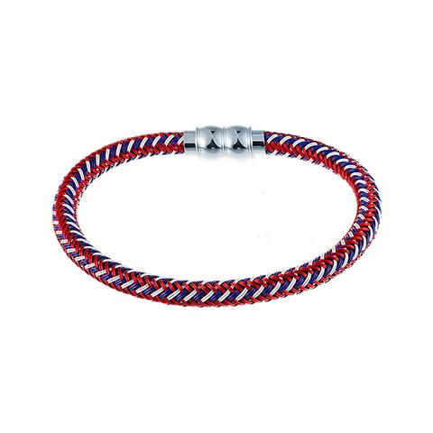 Текстильный браслет 21 см JV 372-0030