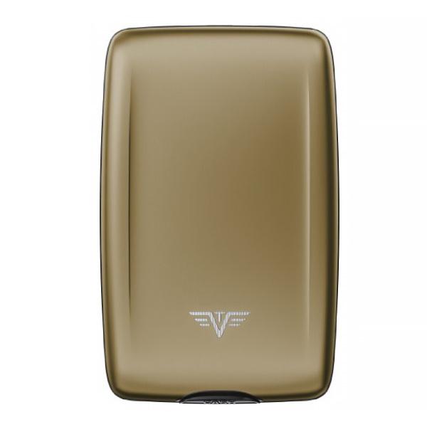 Кошелек c защитой Tru Virtu OYSTER 2, цвет светло-бежевый, 110*69*28 мм