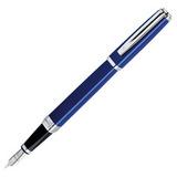 Waterman Exception Slim Blue ST перо золото 18Ct F (S0637090)