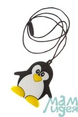 Силиконовый прорезыватель МАМидея Пингвин