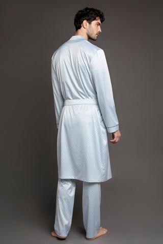 Мужской шелковый халат 60303 Laete Турция