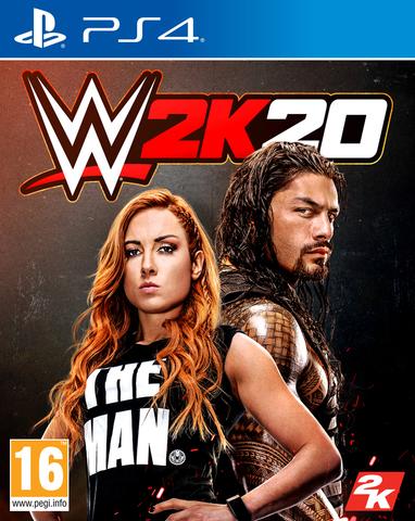 PS4 WWE 2K20 (английский версия)