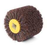 Щетка полировальная с добавлением конского волоса 120х100мм, посадка 19 мм