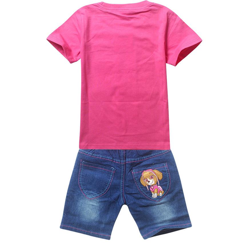 Скай и Эверест комплект детский футболка и шорты